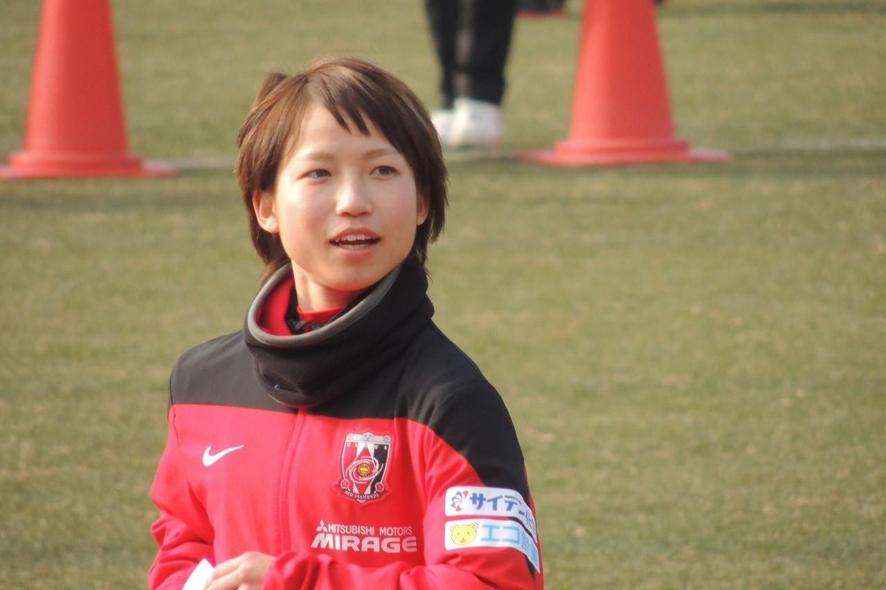 女子サッカー藤田