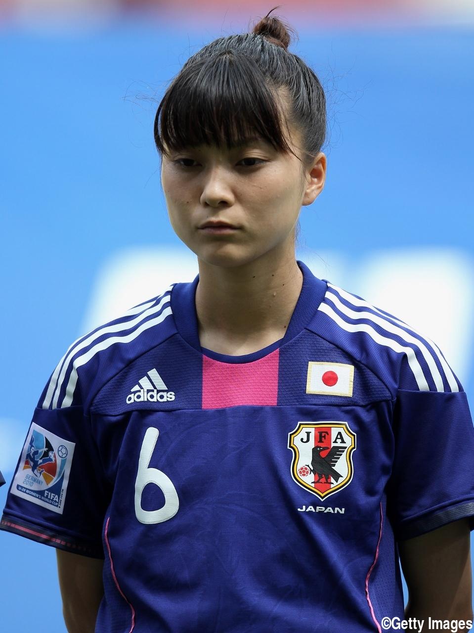 女子サッカー小原