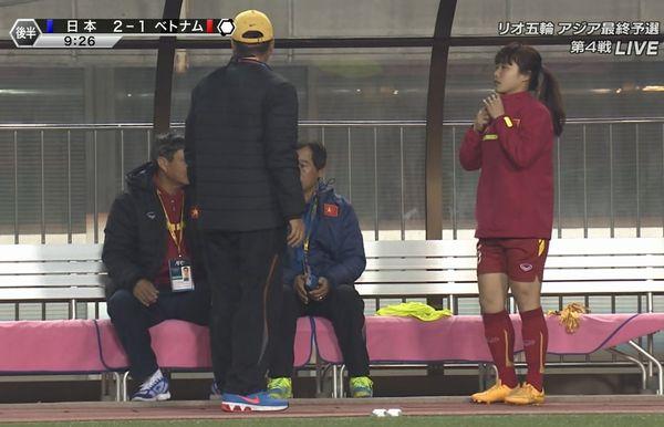 女子サッカーベトナム